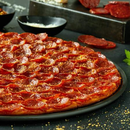 $23.99 2 Large 1-Topping Pizzas